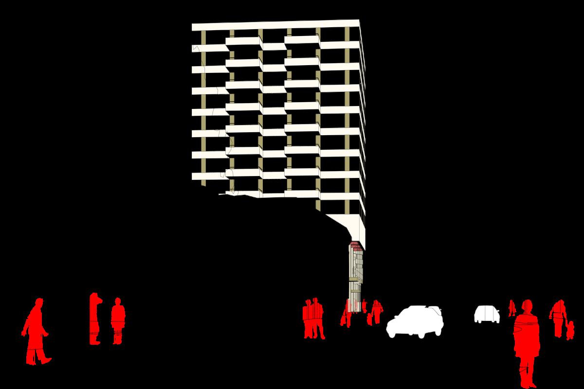 De Nijl Architecten - Propositie Kruiskade