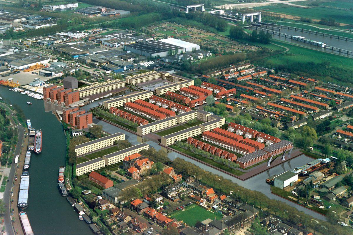 De Nijl Architecten - Bebouwingsplan Vreeswijk Noord