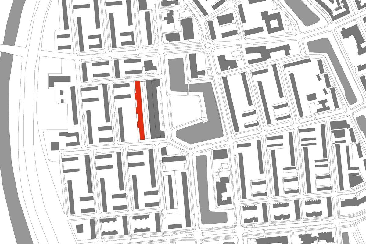 De Nijl Architecten - Woongebouw Potgieterstraat