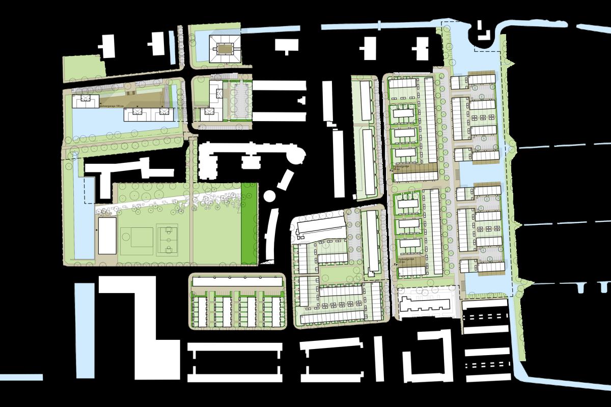 De Nijl Architecten - Stedenbouwkundig plan De Raden