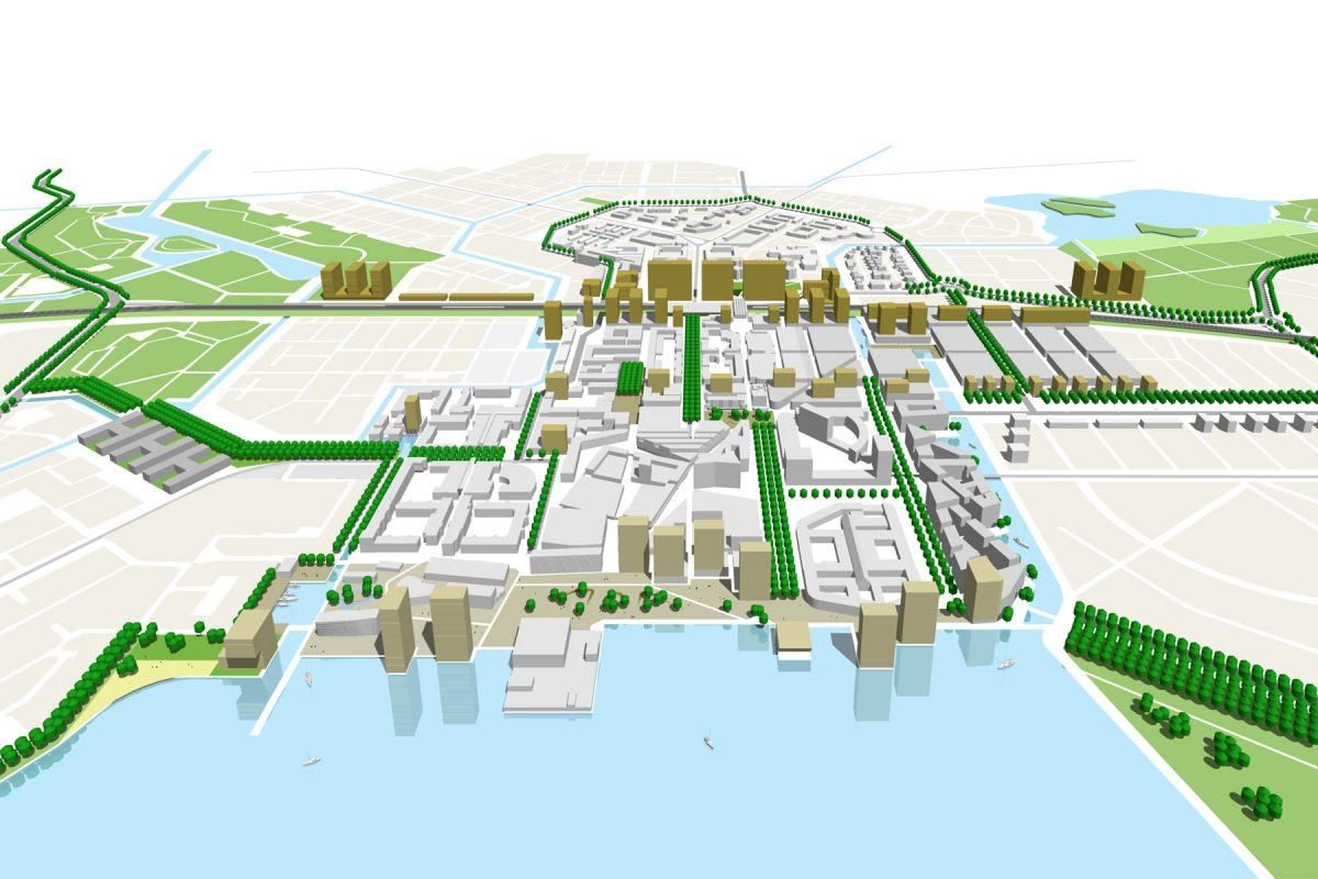 De Nijl Architecten - Ruimtelijke visie Stadshart Almere